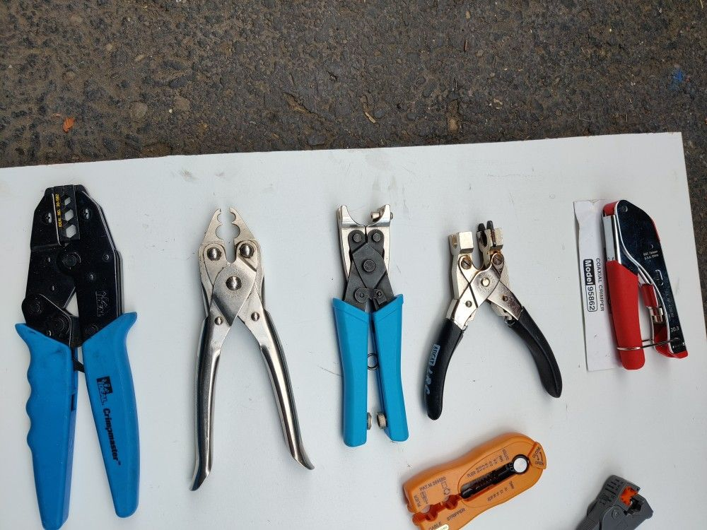 Coax Tools And Hardware $25.00