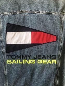Tommy Hilfiger 90s Logo Denim Jacket  Thumbnail