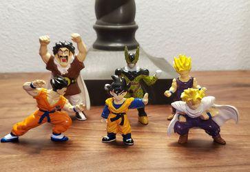 Vintage mini figurines - Dragonball Z - Bandai 1996 Thumbnail