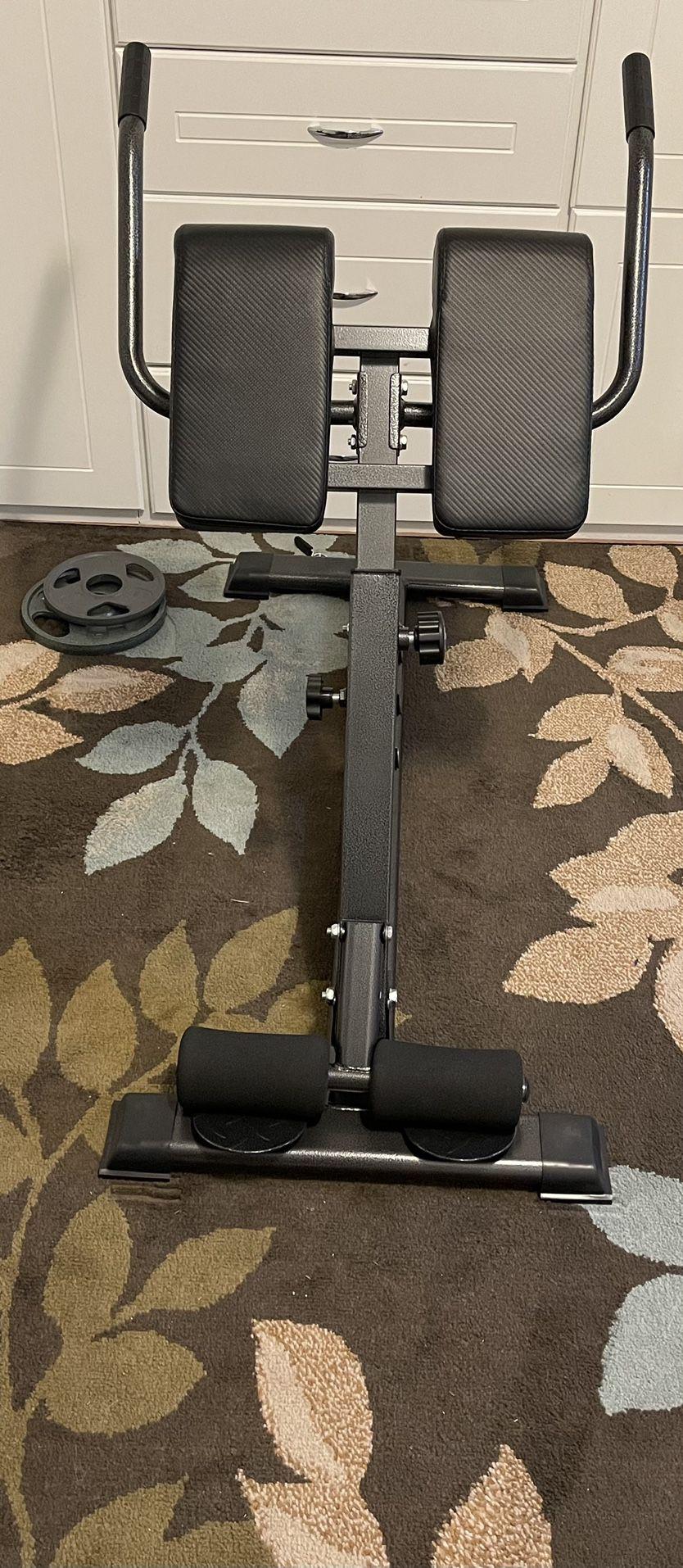 ComMax Roman Chair Back Hyper Extension 30-40-50 Degree Adjustabke