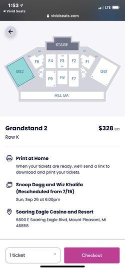 Snoop Dogg And Whiz Khalifa Tickets Thumbnail
