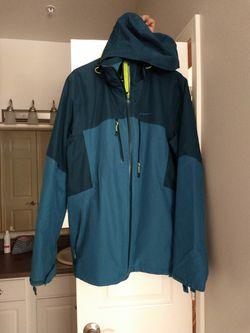 Quechua Men's Waterproof Jacket (Dual Layer)  Thumbnail
