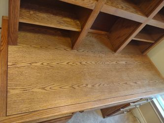 Desk  Solid Oak for  Home or Office  Thumbnail