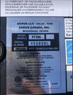 Aerus Lux Guardian Angel HEPA air filter Thumbnail