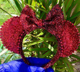 Minnie Mouse ears , headbands Thumbnail