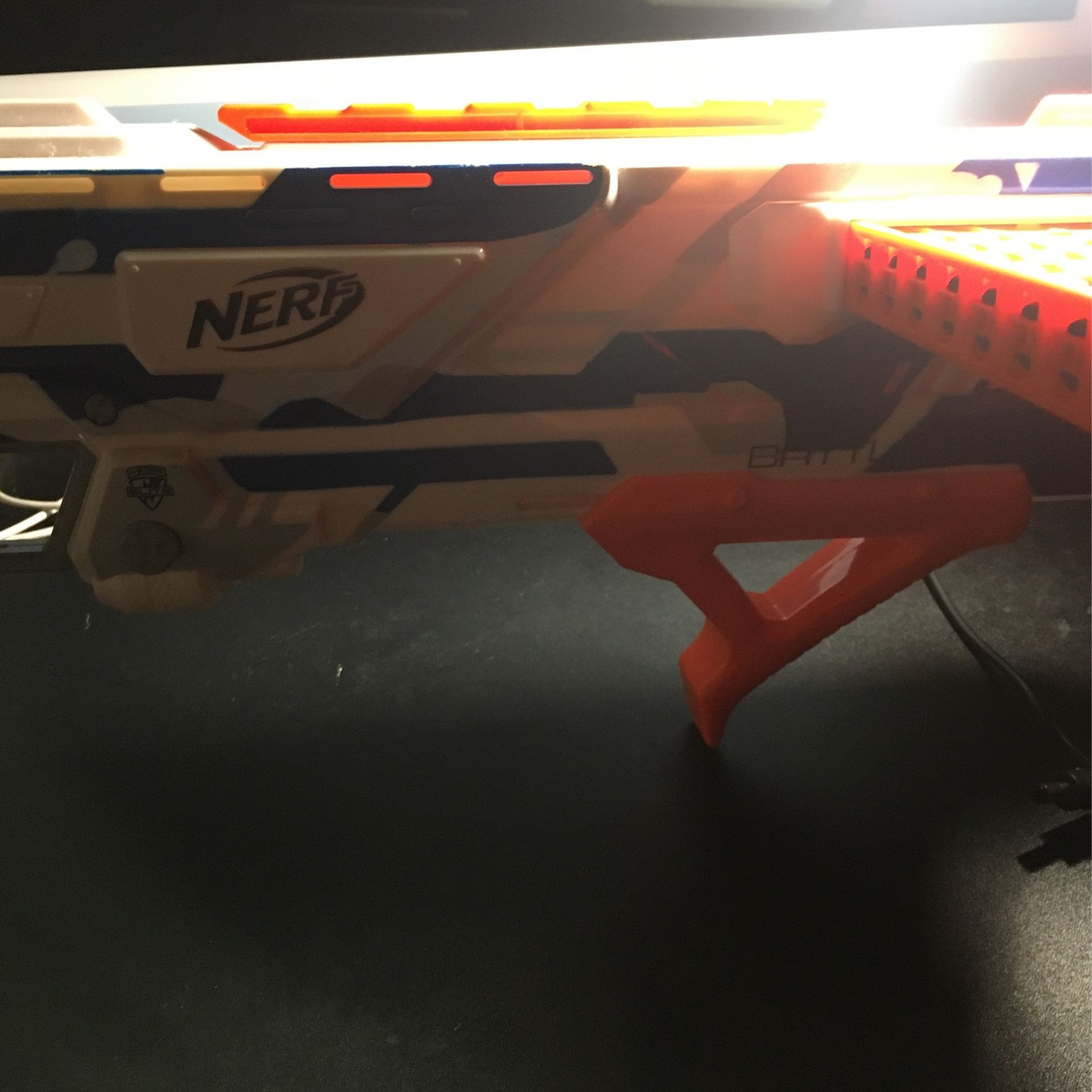 Nerf Gun With 10 Bullets