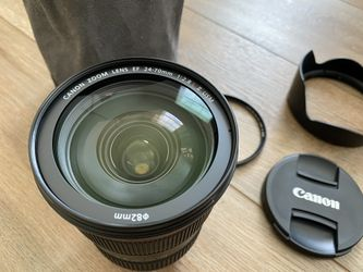 Canon EF 24-70mm F/2.8L II USM Prime Lens With B+W UV Thumbnail