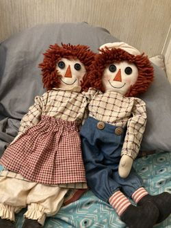 Raggedy Ann and Andy Dolls Thumbnail
