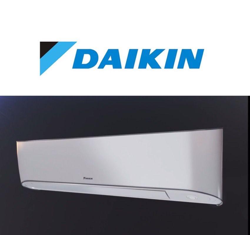 Daikin 12000BTU Heat Pump Mini Split AC System Installed