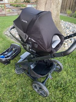 Nuna Mixx Stroller With Car Seat Thumbnail