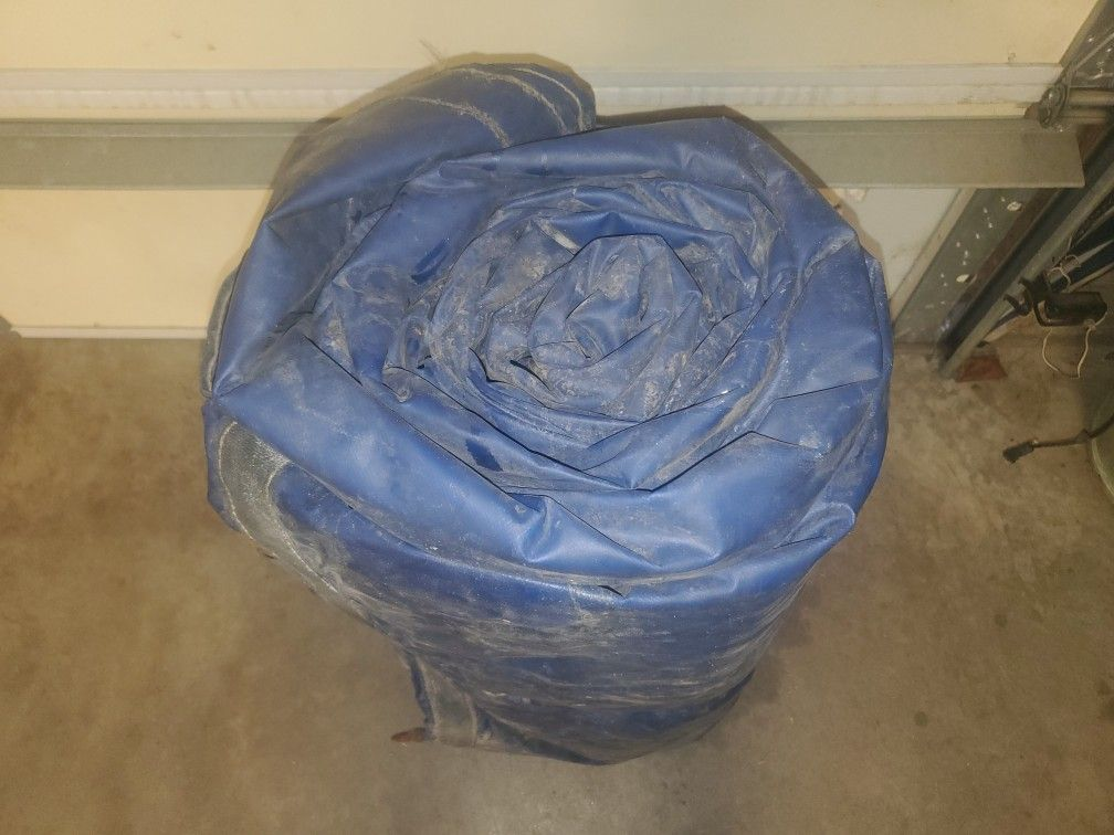 Steel Cargo Tarp 20ft With 4ft Drops Excellent Condition