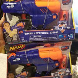 Nerf Shellstrike DS-6 Set Of 2 *new* Thumbnail