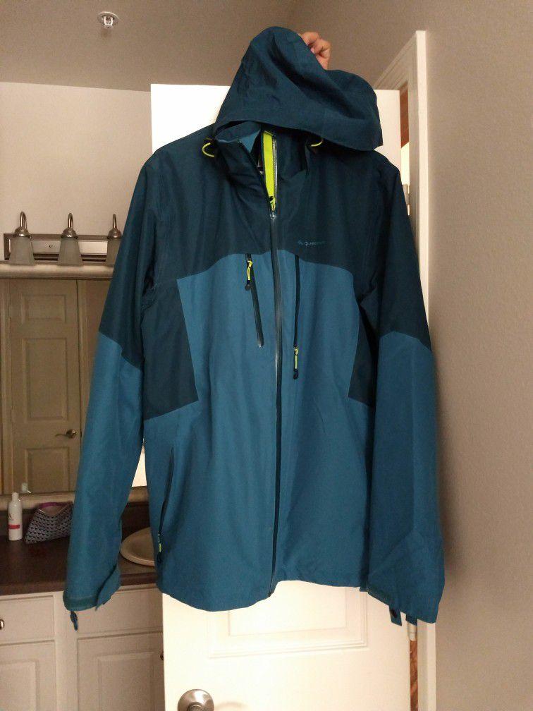 Quechua Men's Waterproof Jacket (Dual Layer)