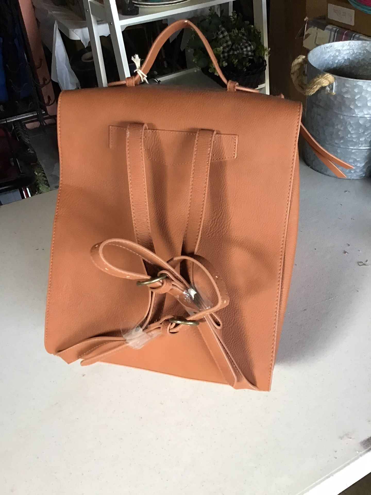 Universal Thread (Target) Cognac Backpack NWT