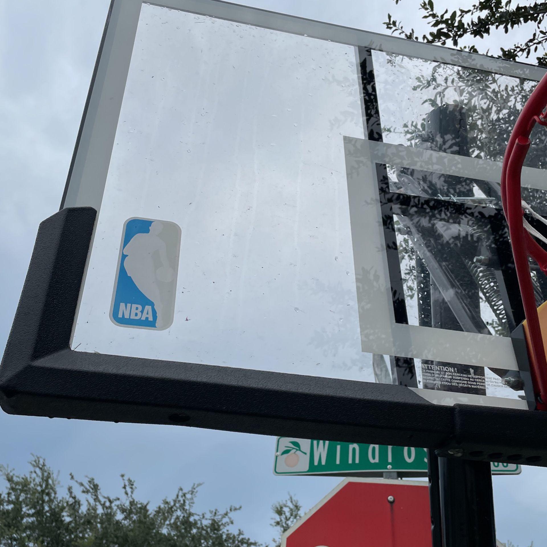 Spaulding Rebounding Basketball Hoop