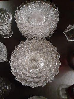 Crystal dish set Thumbnail