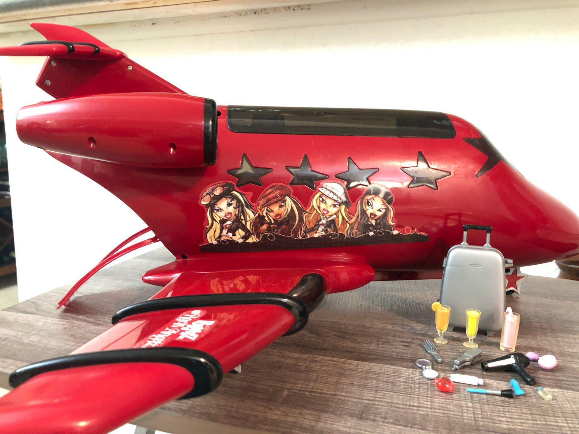 Bratz Rock Angelz Jet plane