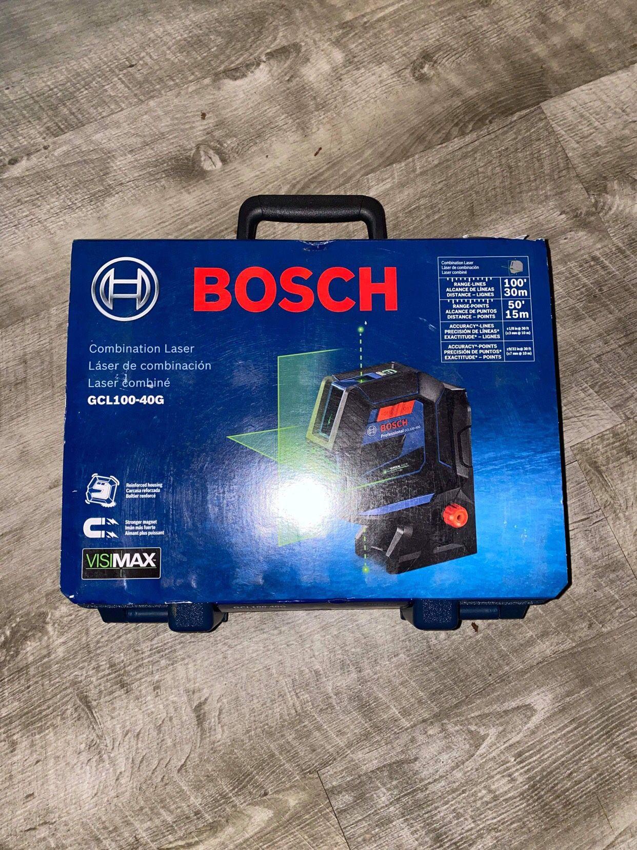 Bosch Combination Laser New