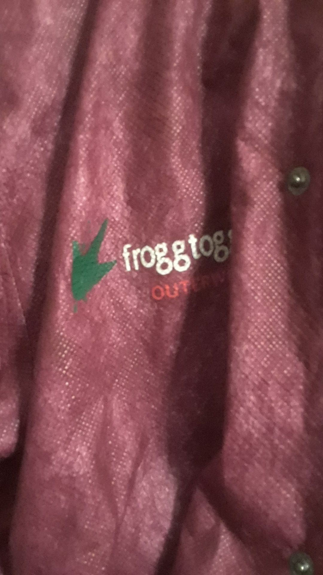 NWOT FroggToggs ladies rain suit sz small