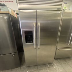 """42"""" Ge Monogram Built In Side By Side Refrigerator  Thumbnail"""