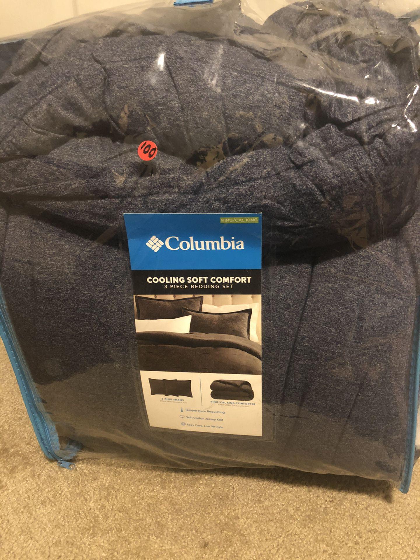 Columbia Comforter Set