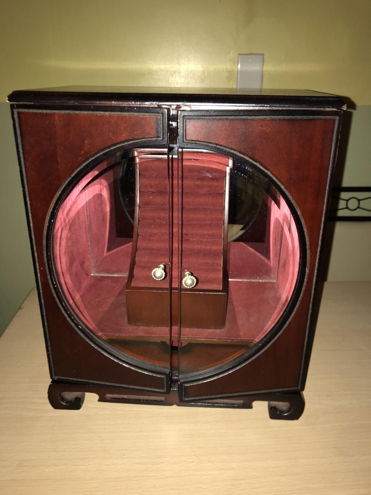 JEWELRY BOX LARGE WOOD