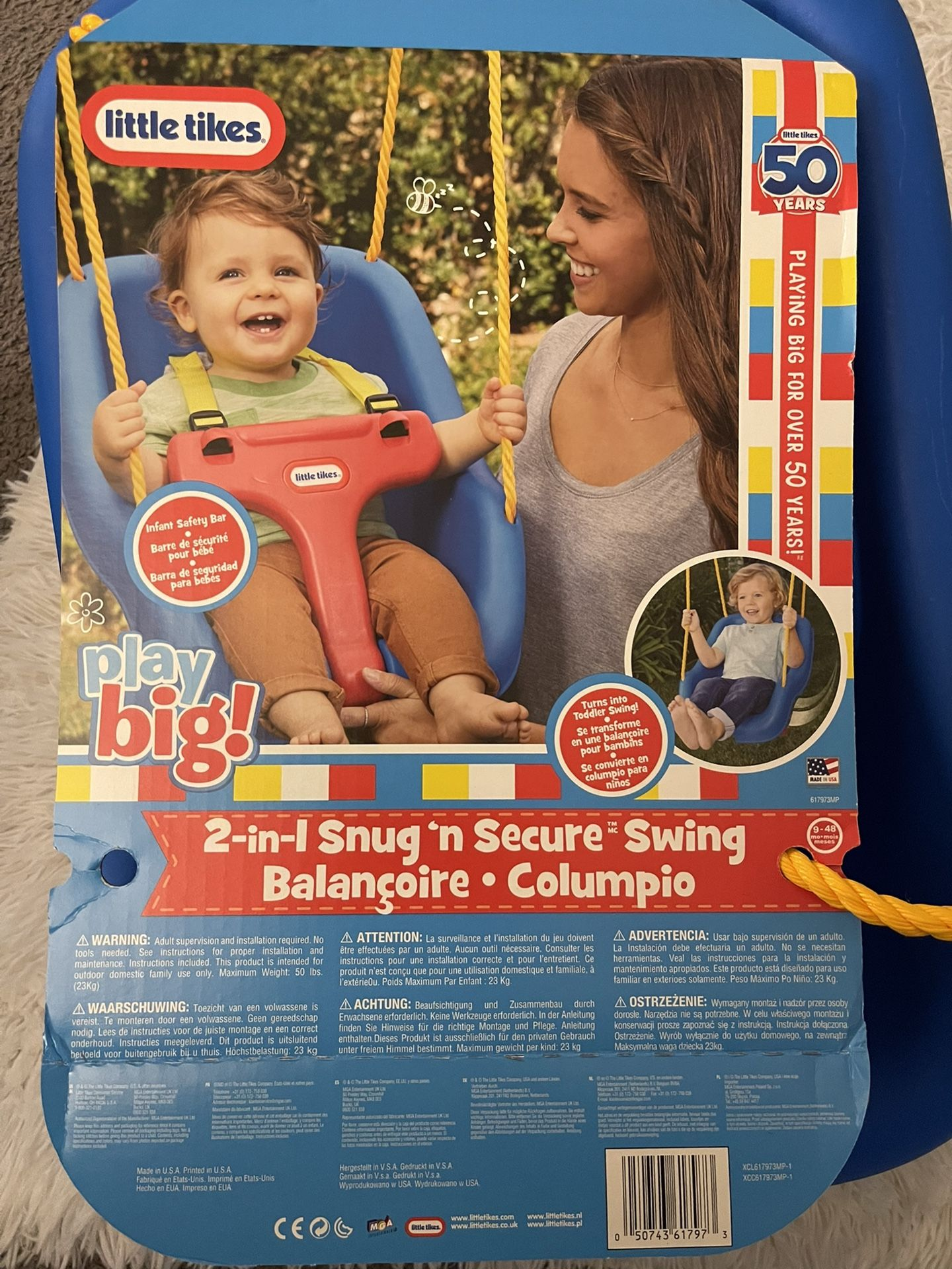 Little Tikes 2 In 1 Snug And Secure Swing