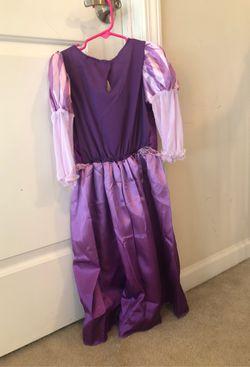 Rapunzel costume for Halloween Thumbnail