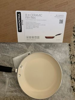 Brand new Tramontina 8 inch ceramic Fry Pan- brand new Thumbnail