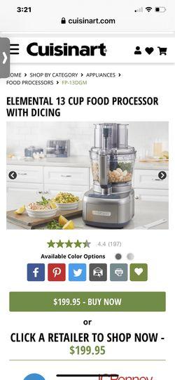 Cuisinart 13 cup food processor Thumbnail