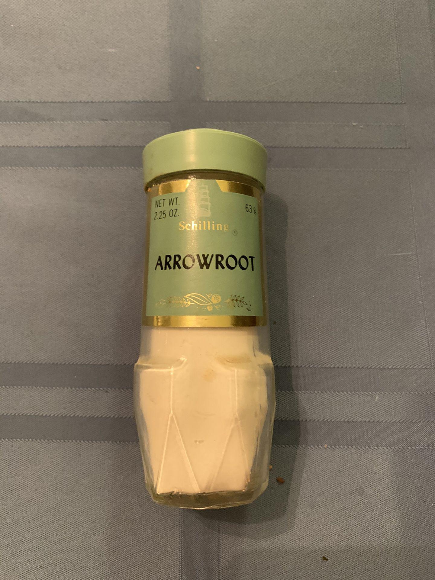 Vintage Schilling spice jar