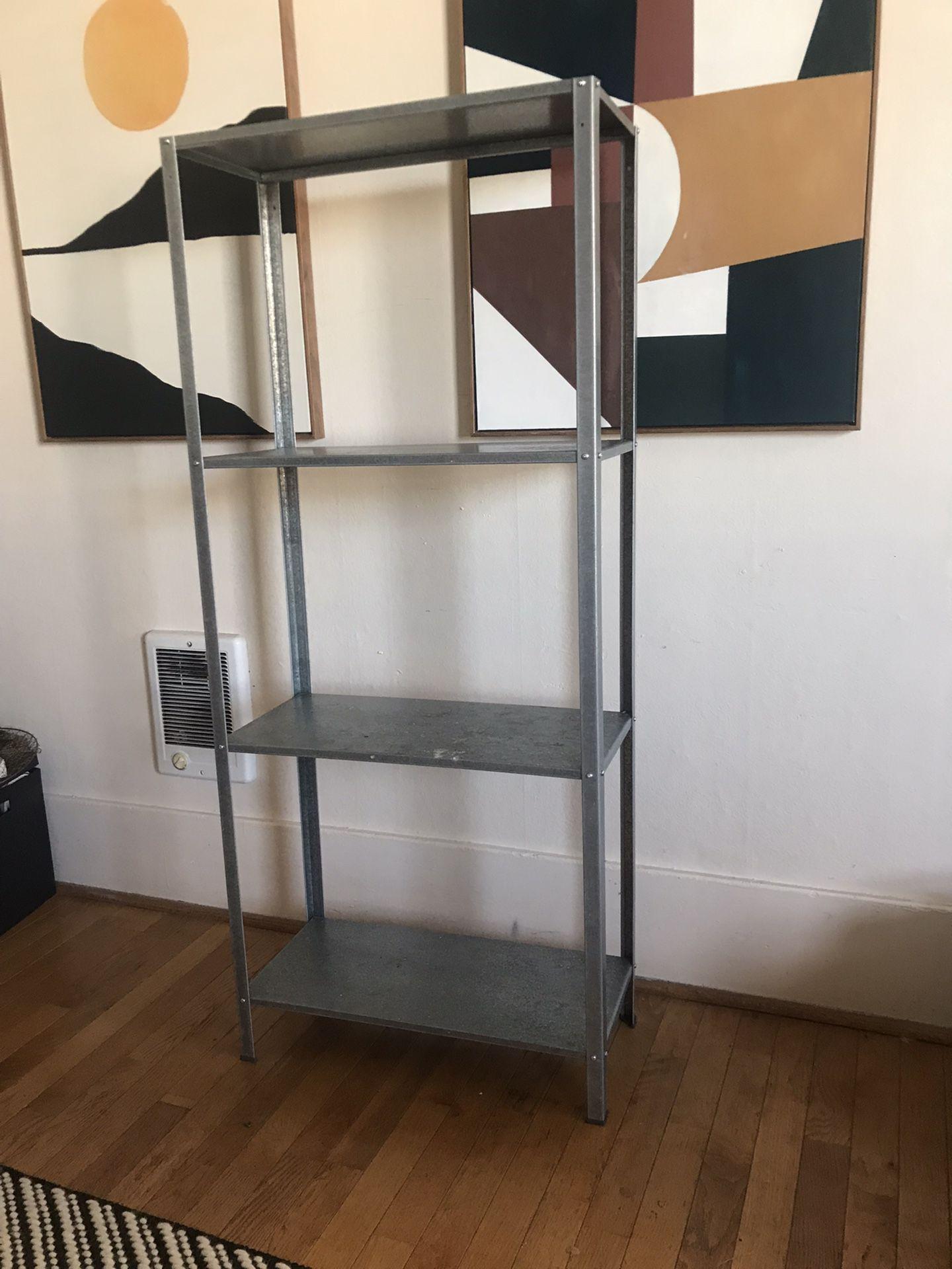 Four Shelf IKEA Storage