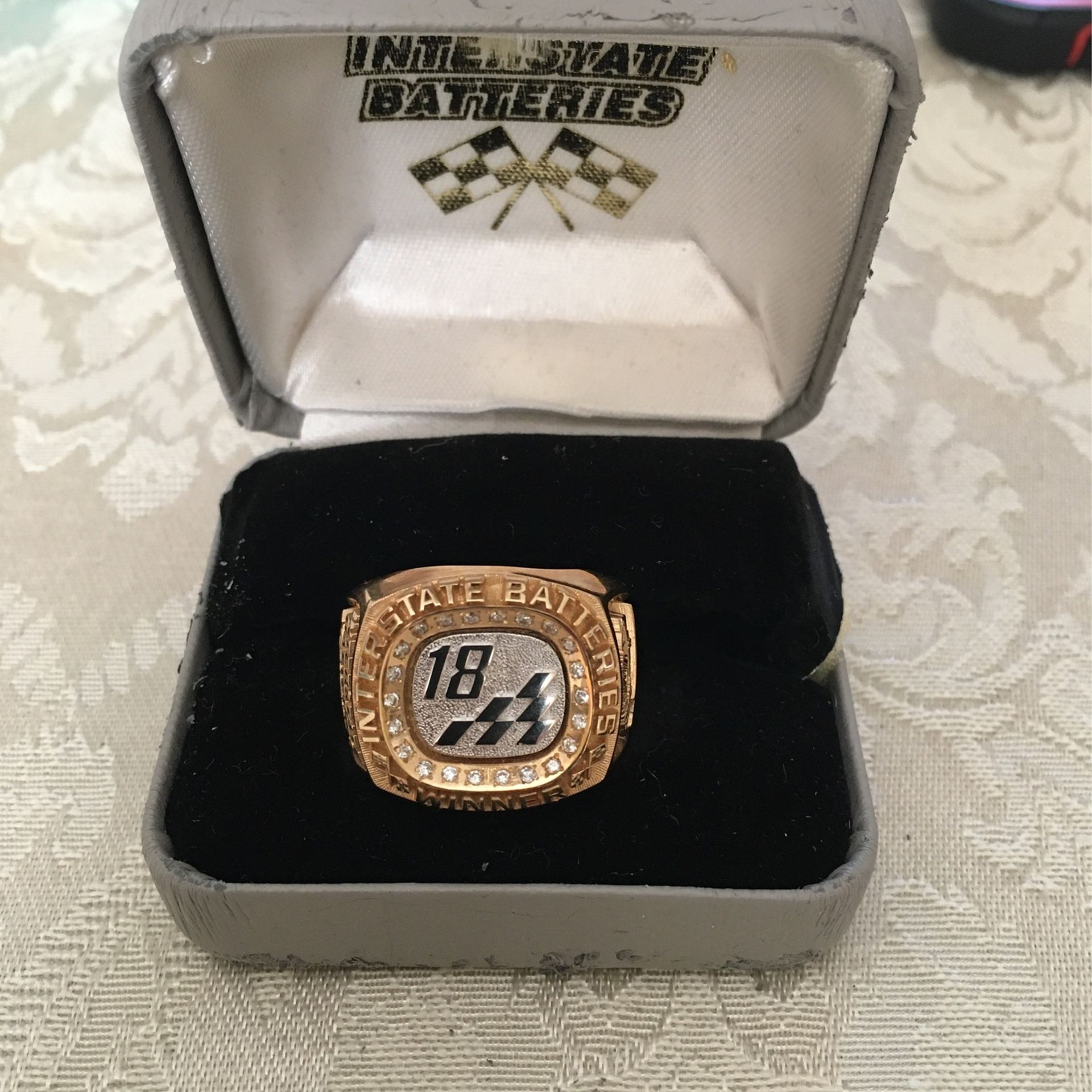 Interstate Battery NASCAR Ring