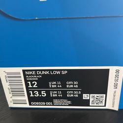 Nike Dunk Undefeated Size 12  Thumbnail