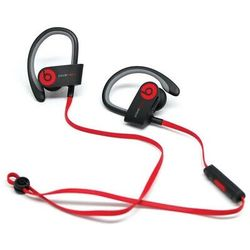 Beats by Dr dre Powerbeats2 Wireless In-Ear Bluetooth Headphone - Black and Red Thumbnail