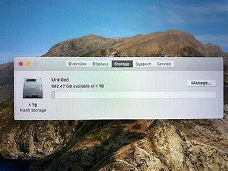 "Apple MacBook Pro 2019 16"" Laptop 2.3GHz i9 1TB SSD 16GB Silver Warranty w/Box Thumbnail"