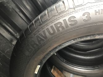 """16"""" tires 215/55/16 semi new with free installation $160 Thumbnail"""