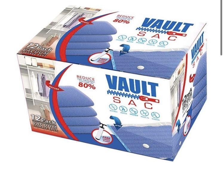Vacuum Bags BOX w/pump NEW
