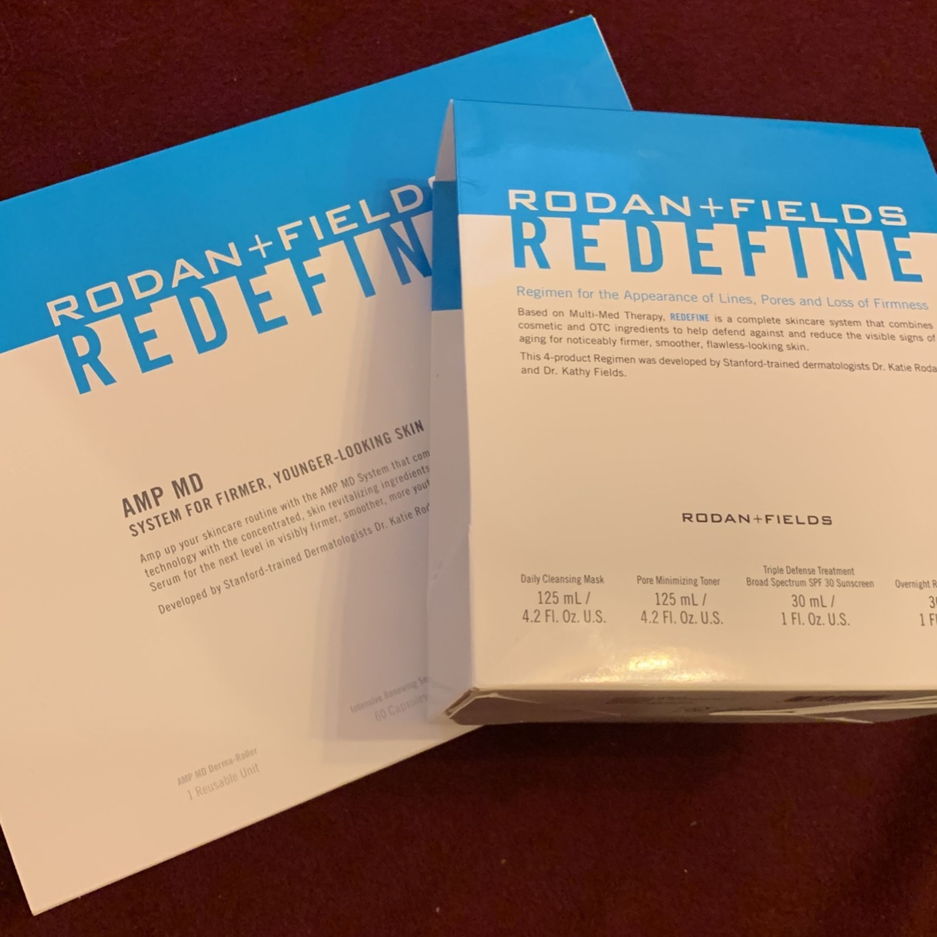 Rodan and Fields - Redefine AMP MD - NEW - Luxury Skincare Products- Younger Former Skin