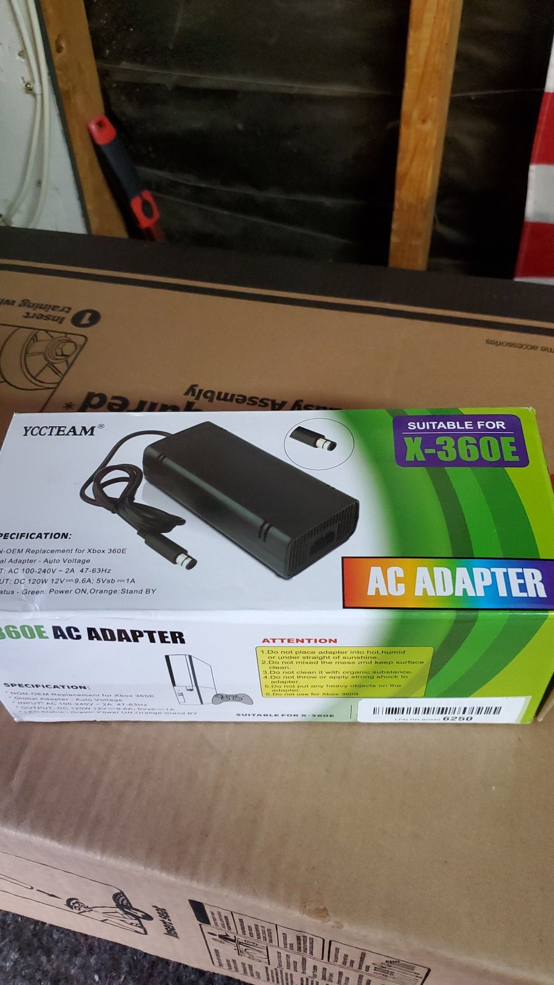 Xbox 360 AC Adapter