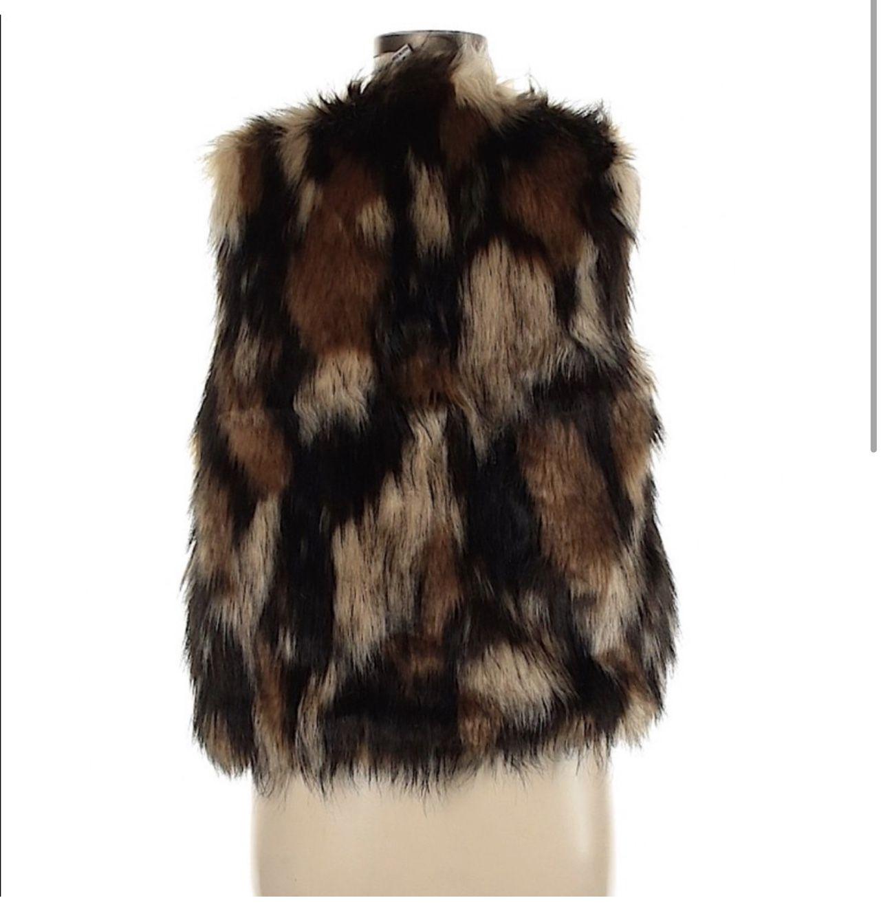 Vintage Havana Fur Vest
