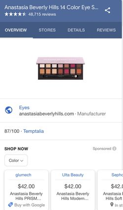 ABH Modern Renaissance Eyeshadow Palette Thumbnail