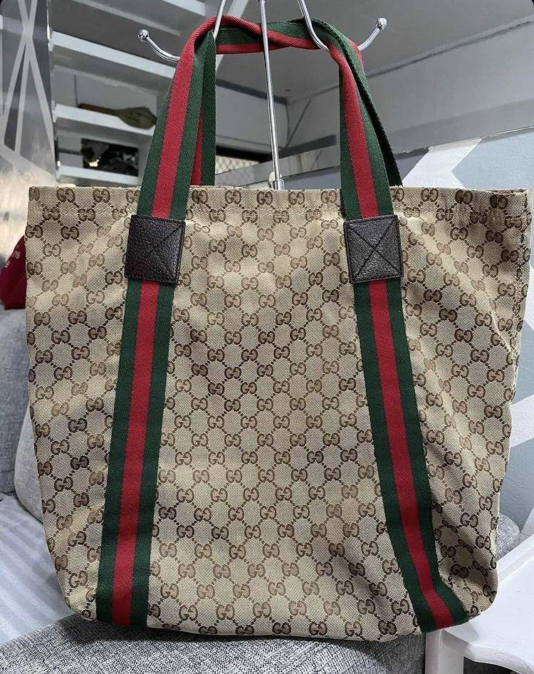 Gucci Sherry Line Tote Bag VGUC