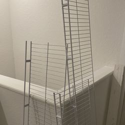 Metal Wire Shelves For Closets Or Garage  Thumbnail
