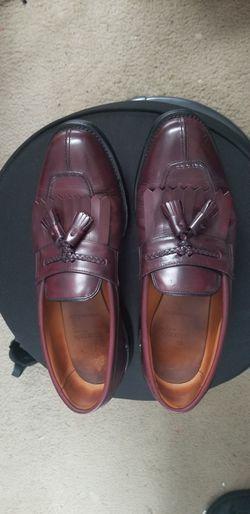 Allen Edmonds Cannondale Men Merlot Split Toe Tassel Kiltie Loafers 10D Thumbnail
