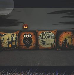 New! Halloween pillows covers 4pc 18*18 Thumbnail