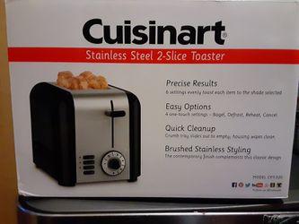 Cuisinart 2 slice toaster Thumbnail