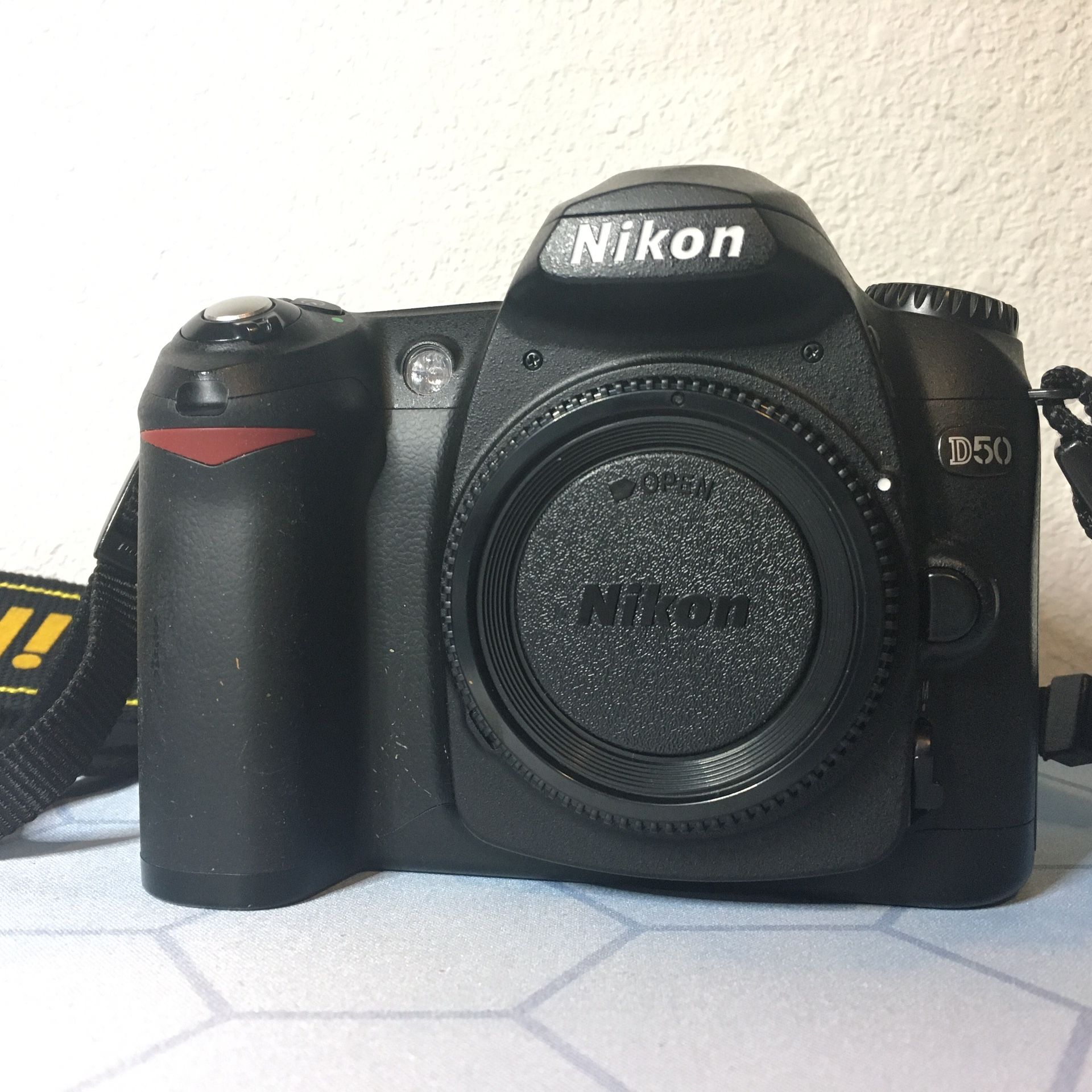 Nikon D50 with 3 lenses + lots of extras
