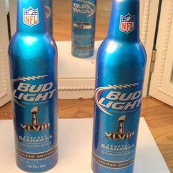 Seahawks Collectors Budweiser Bottles!  Thumbnail