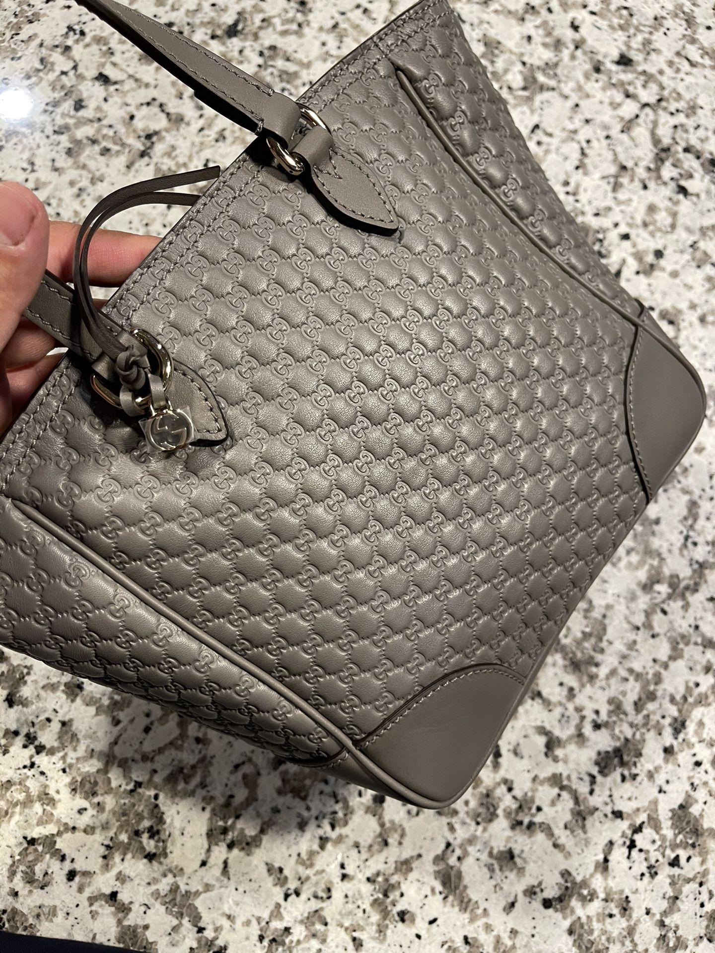 Gucci Bree Mini Tote Grey